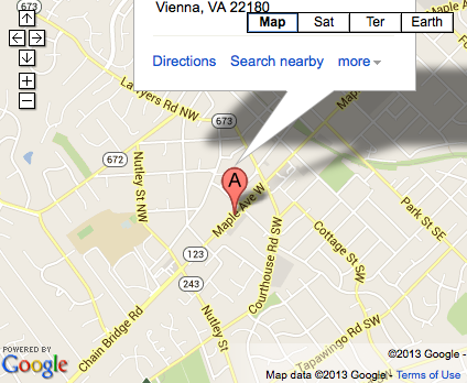 Virginia Family Medicine new office location in Vienna, VA.