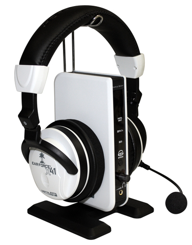X41 Wireless Digital RF Gaming Headset with Dolby® 7.1 Channel Surround Sound and transmitter