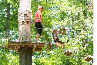 "Grand Opening of Michigan's First ""Aerial Forest Park"" on August 30 at Frankenmuth"