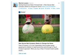 Now when a person shares your news from prleap.com on Twitter, their Tweet will contain content previews, images, and more.