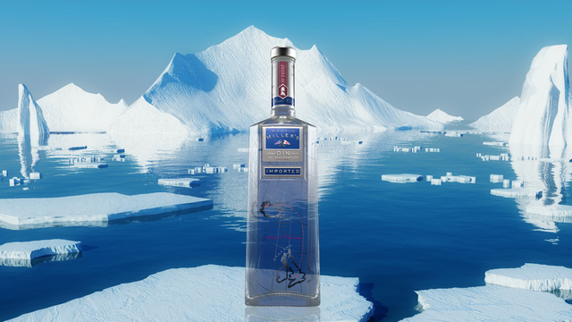 Martin Miller's Gin, the only gin blended using pure Icelandic Spring water