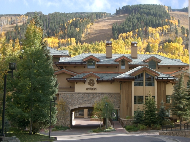Autumn arrives at the Antlers at Vail Hotel