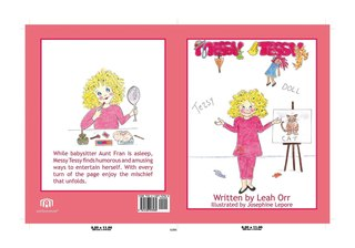 """Messy Tessy:"" New Children's Book Featuring A Charming Character That Enjoys Making a Mess, Author raise…"