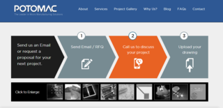 Digital Fabrication Leader Potomac Photonics, Inc. Unveils New Interactive Website
