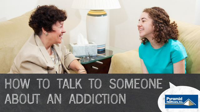 Pyramid Slide Show: How to Talk to Someone About an Addiction