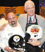 Anthony Zallo & Andy Russell at Taste of the NFL
