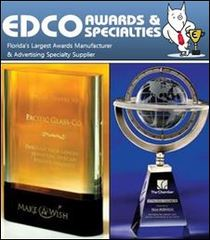 EDCO Unveils Exclusive New Line of Crystal Awards