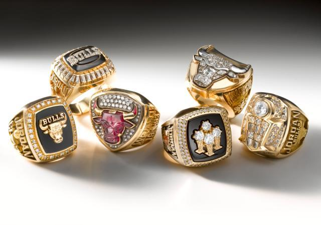 Chicago Bulls Championship Rings