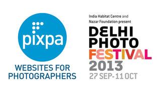 Pixpa Supports the Delhi Photo Festival, 2013: Becomes Associate Sponsor
