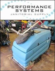 Performance Systems Janitorial Supply Posts Demo of Powerful Floor Scrubber