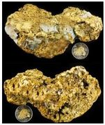 570 DWT Alaskan Gold Nugget for Sale Collector's Dream