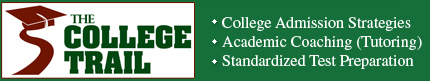 The College Trail logo
