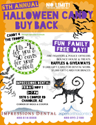 The 6th Annual Halloween Candy Buy-back Event benefiting the troops of Operation Gratitude hosted by Chandler Dentist Impressions Dental and Aspen Orthodontics.