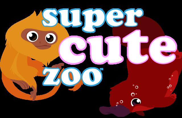 Super Cute Zoo - logo