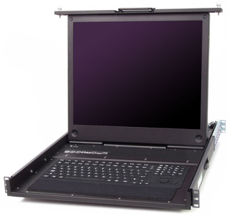 Chassis Plans Introduces CCX-17 & CCX-19 Rugged Military Grade 1U LCD Keyboard Drawers