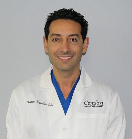 Dr. Shahram Moghaddam, from Weymouth Smiles Dental, offers CT scan and cone beam imaging technology for ideal planning and placement of dental implants.
