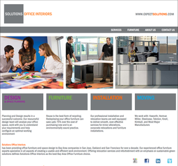 Solutions Office Interiors Launches New Website