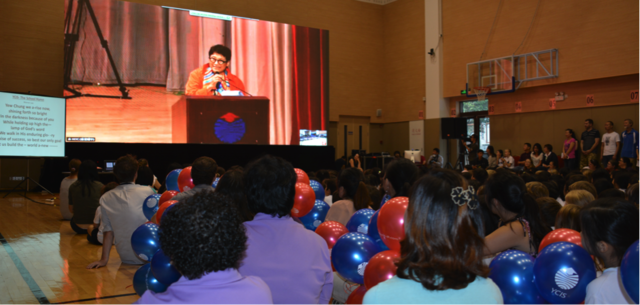Founder's Day celebrations at YCIS Shanghai