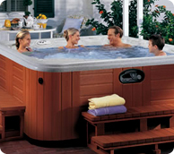 A wide range of garden and indoor hot tubs and spas.