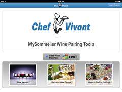 MySommelier App Homepage
