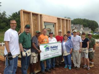 Precision Solutions Inc Partners With Habitat For Humanity Bucks County For Executive Build Day