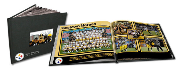 Steelers fan memory book at OurHubbub.com