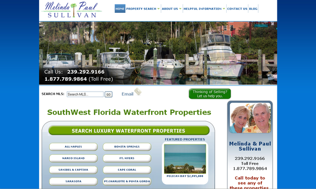 www.SouthwestFloridaWaterfrontProperties.com provides visitors with a comprehensive, fast and effective way to search for waterfront properties in Southwest Florida.