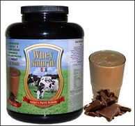 All Natural Chocolate Whey Protein