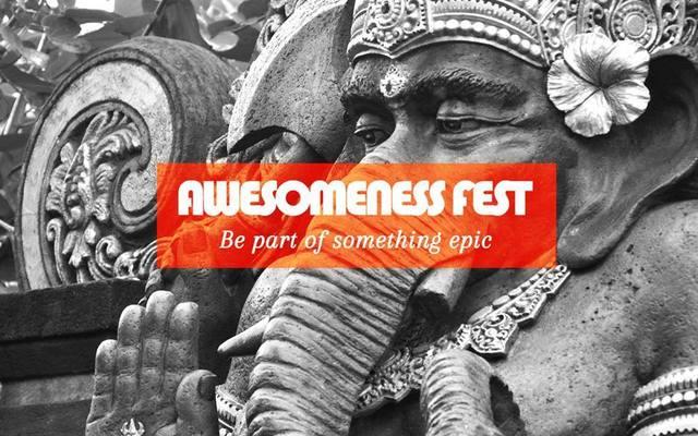 Awesomness Fest Logo