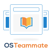 OSTeammate allows companies to show website training inside their own site.