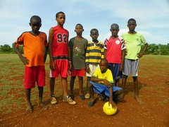 Our Pass It Forward balls, donated to children in Haiti