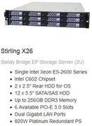 Storage Option: Stirling X26