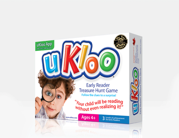 uKloo Early Reader Treasure Hunt Game Gets AblePlay Award for Excellence in Helping Children with Special Needs