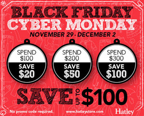 Black Friday/Cyber Monday by Hatley