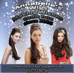 Annabelle's Wigs Announces Perfect Party Hair Support Line.