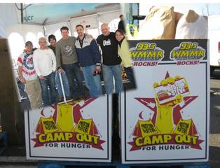Precision Solutions Inc Helps Preston & Steve Camp Out For Philabundance