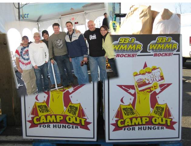 Precision Solutions, Inc. proudly supports Preston & Steve's Camp Out for Hunger food collection for Philabundance