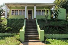 Gandhi's House at the Phoenix Settlement Rebuilt After being destroyed