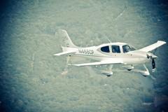 Performance Flight over Grewenwich, CT