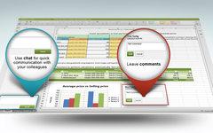 Edit spreadsheets online
