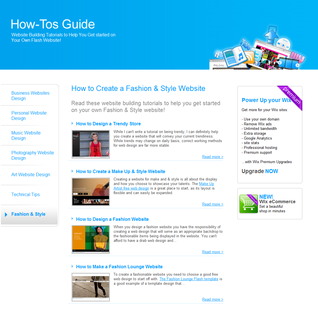 Wix Introduces New 'How To' Category