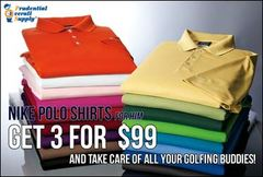 Prudential Overall Supply: Nike Polo Shirts for him