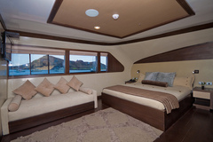 A room with a view on board the Galapagos Grand Odyssey