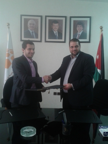 Dr. Loay from JIEC and Dr. Altawafsheh from Mawdoo3.com.