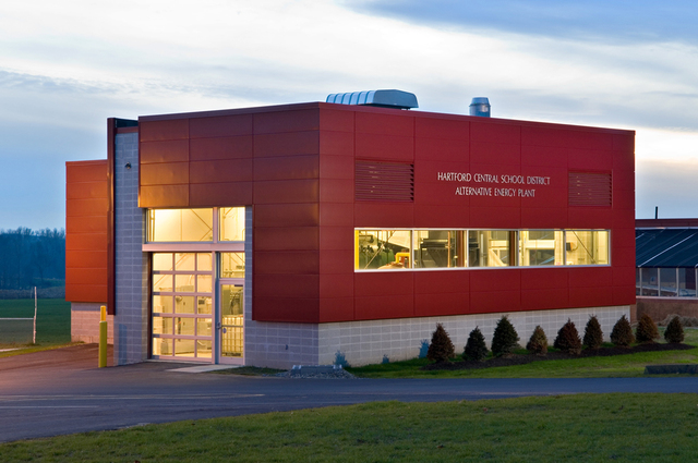 Alternative Energy Plant for Hartford CSD, NY