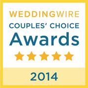 Josh Wong of Josh Wong Photography wins the WeddingWire 2014 Couple's Choice Award