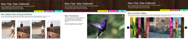 Wix website builder brimming with new content
