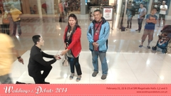 A marriage proposal from an Augmented Reality Groom