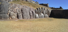 Sacsayhuaman Inca ruins in Cuzco