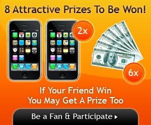 Acmamall.com Sweepstakes: Win and share 2 Iphones 3GS with your friend